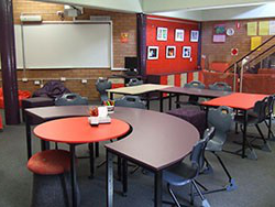 Picture of desk in the learning centre