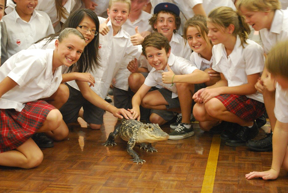 Yr 7 students enjoy Reptiles Alive